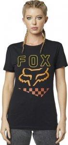 FOX T-SHIRT LADY RICHTER BLACK