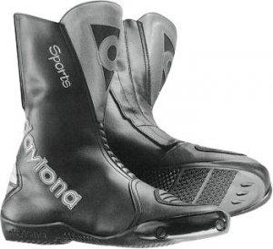 Buty motocyklowe  Daytona Clubman czarno-stalowe