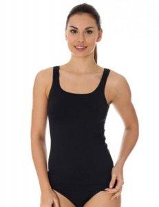 Brubeck TA10430 Koszulka damska camisole COMFORT COOL czarny