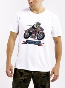 DAVCA T-shirt coffin racer