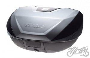 KUFER SHAD SH59X powiększany z aluminiową pokrywą