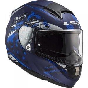 KASK LS2 FF397 VECTOR FT2 STENCIL MATT BLUE