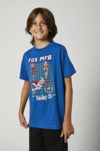 FOX T-SHIRT JUNIOR CYPHER ROYAL BLUE