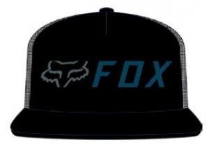 FOX CZAPKA Z DASZKIEM APEX SNAPBACK BLACK/BLUE