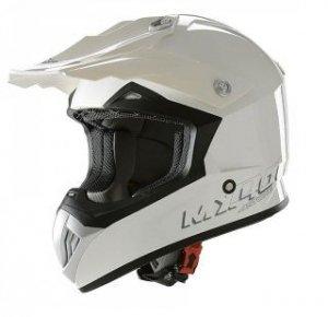 ASTONE KASK MX400DR MONO COLOR WHITE GLOSS