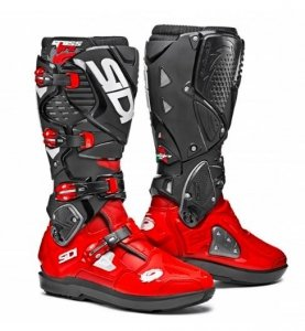 Buty offroad Sidi Crossfire 3 SRS red red black