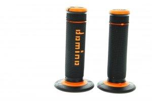 Domino Manetki czarno - pomarańczowe X-treme