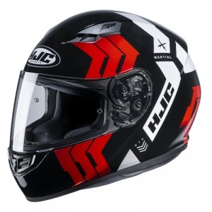 HJC KASK INTEGRALNY CS-15 MARTIAL BLACK/RED/WHITE