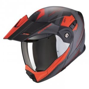 SCORPION KASK OFF-ROAD ADX-1 TUCSON CEMENT GRAY M
