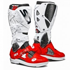 Buty offroad Sidi Crossfire 3 SRS black red white