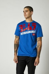 FOX T-SHIRT YOSHIMURA OVERSIZED ROYAL BLUE