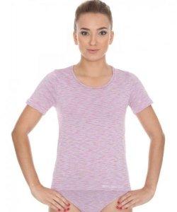 Brubeck SS11570 Koszulka damska z krótkim rękawem FUSION różowy