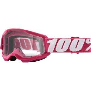 100 PROCENT GOGLE STRATA 2 YOUTH FLTETCHER CLEAR