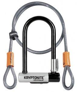 KRYPTONITE  ZAPIĘCIE U-LOCK KRYPTOLOK MINI-7 82cmx