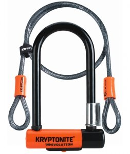 KRYPTONITE ZAPIĘCIE U-LOCK EVOLUTION MINI-7 +LINKA
