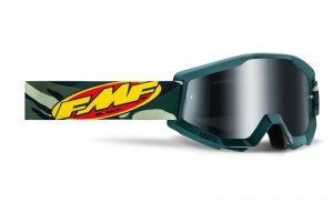FMF GOGLE POWERCORE ASSAULT CAMO SZYBA MIRROR SILV