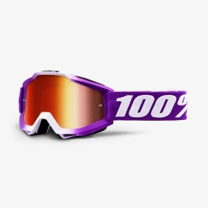 100 PROCENT GOGLE ACCURI JR YOUTH FRAMBOISE FIOLET