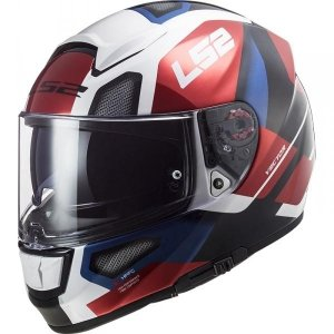KASK LS2 FF397 VECTOR FT2 AUTOMAT WHITE RED