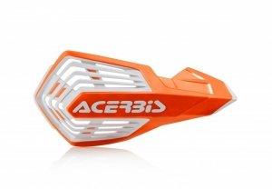 Acerbis Handbary X-FUTURE pomarańczowo - biały