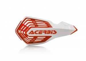 Acerbis Handbary X-FUTURE  biało - czerwony