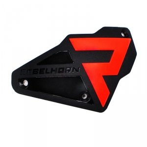 REBELHORN SLIDERY RAMION (NA ŚRUBY) BLACK/FLO RED