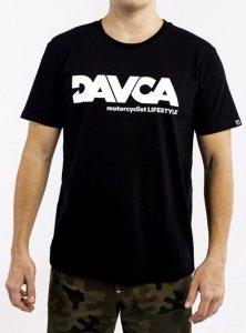 DAVCA T-shirt white logo