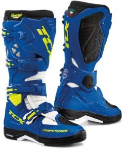TCX BUTY OFF-ROAD COMP EVO 2 MICHELIN BRIGH/BLUE/W
