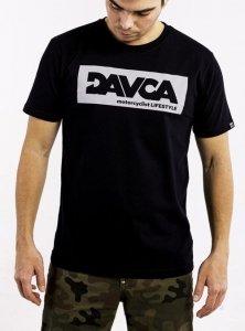DAVCA T-shirt gray logo