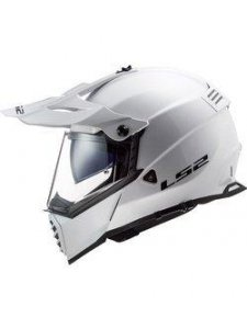 KASK LS2 MX436 PIONEER EVO GLOSS WHITE