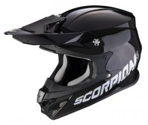 SCORPION KASK  OFF-ROAD VX-21 AIR SOLID BLACK