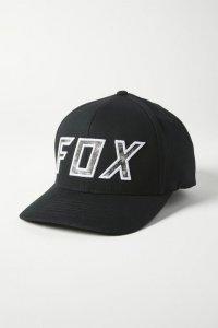 FOX CZAPKA Z DASZKIEM DOWN N DIRTY FLEXFIT BLACK/W
