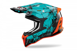 AIROH KASK OFF-ROAD STRYCKER CRACK GLOSS
