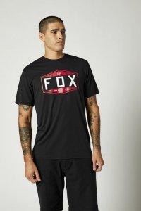 FOX T-SHIRT EMBLEM TECH BLACK