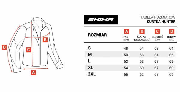 SHIMA STR JACKET BLACK kurtka do kombinezonu STR