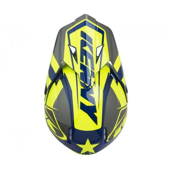KENNY KASK OFF-ROAD TRACK NEON YELLOW 2019