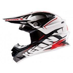 KENNY KASK OFF-ROAD PERFORMANCE 14 BLACK-RED
