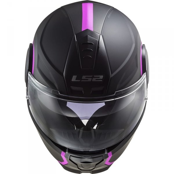 KASK LS2 FF902 SCOPE ARCH MATT TIT. PINK  +PINLOCK
