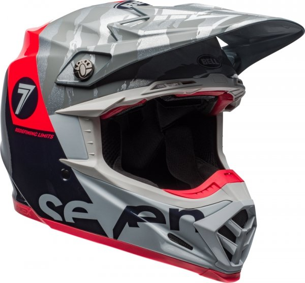 BELL KASK OFF-ROAD MOTO-9 FLEX SEVEN ZONE NAVY/COR