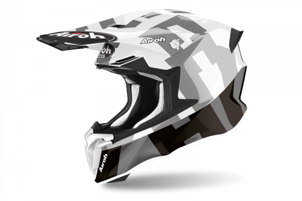 AIROH  KASK OFF-ROAD TWIST 2.0 FRAME GREY GLOSS