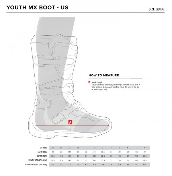 ALPINESTARS(MX) buty TECH 7S YOUTH cross/enduro