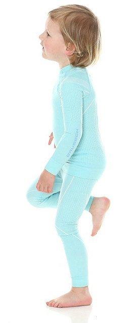 Brubeck Spodnie dziewczęce THERMO Kids błękitny