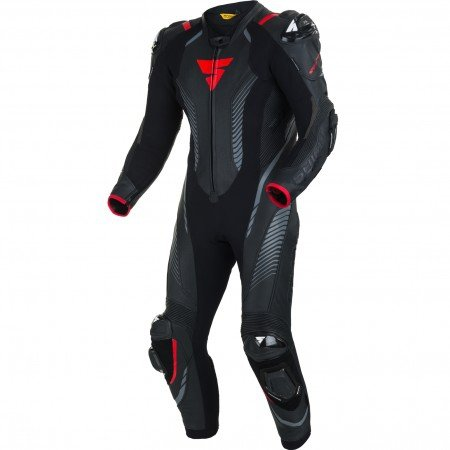 SHIMA  KOMBINEZON MOTOCYKLOWY APEX RS BLACK/RED