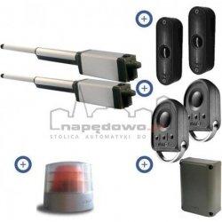Zestaw Somfy Ixengo L 3S io - 24V Comfort Pack (2 piloty 4-kanałowe Keygo, lampa, fotokomórki, akumulator)