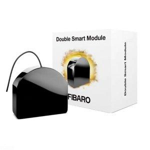 DOUBLE SMART MODULE FGS-224 - dwukanałowy bez potencjałowy włącznik przeznaczony do sterowania innymi urządzeniami.
