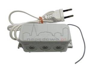 UNIWERSALNY odbiornik 2-kanałowy RET 2 433 MHz (zasilanie 230 V) pasuje do wszystkich urządzeń na rynku (funkcja impuls)