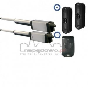 Zestaw Somfy Ixengo L RTS 230V Standard Pack (1 pilot 2-kanałowy Keytis + fotokomórki)