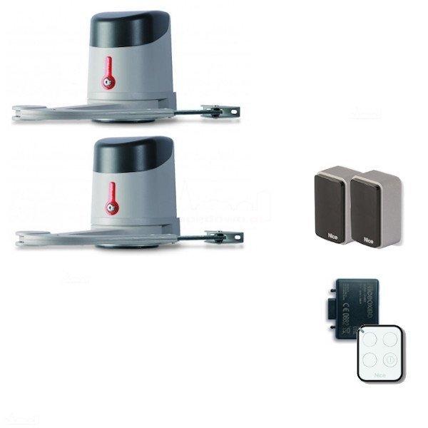 HYKE 24 HS - zestaw automatyki do bram dwuskrzydłowych