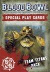 BLOOD BOWL CARDS:TEAM TITANS okładka