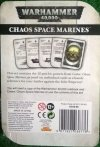 PSYCHIC CARDS CHAOS SPACE MARINE