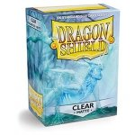 Koszulki Dragon Shield Standard Sleeves - Matte Clear (100 Sleeves)